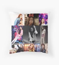 JESSICA JUNG COLLAGE Throw Pillow