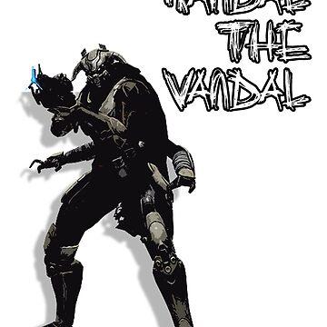 Randal The Vandal by MegaGalactus