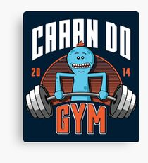 Can Do Gym Canvas Print