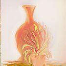 A Peach Of A Vase  by Sherri Of Palm Springs by SherriOfPalmSprings Sherri Nicholas-