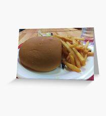 Big food Greeting Card