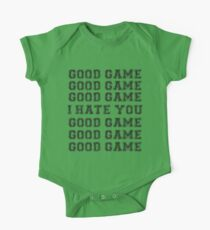 Good Game.  I Hate You. Kids Clothes