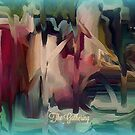 The Gathering - Abstract by Sherri Of Palm Springs by SherriOfPalmSprings Sherri Nicholas-