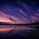 Lake Pukaki sunset by Paul Mercer