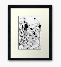 Shintaro Kago - Abstractions Framed Print