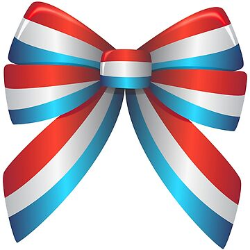 Red White and Blue Ribbon by rizkymaulida