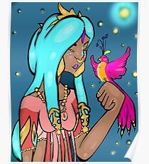 Elven Bird Poster