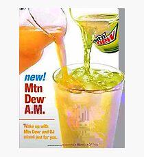 Mtn Dew AM JPEG'd Photographic Print