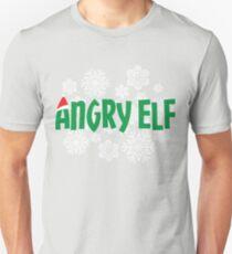 Angry Elf-Christmas-holiday T-Shirt