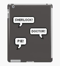 Sherlock Doctor Pie iPad Case/Skin