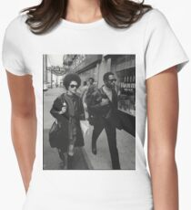 Black Panthers 2 Womens Fitted T-Shirt
