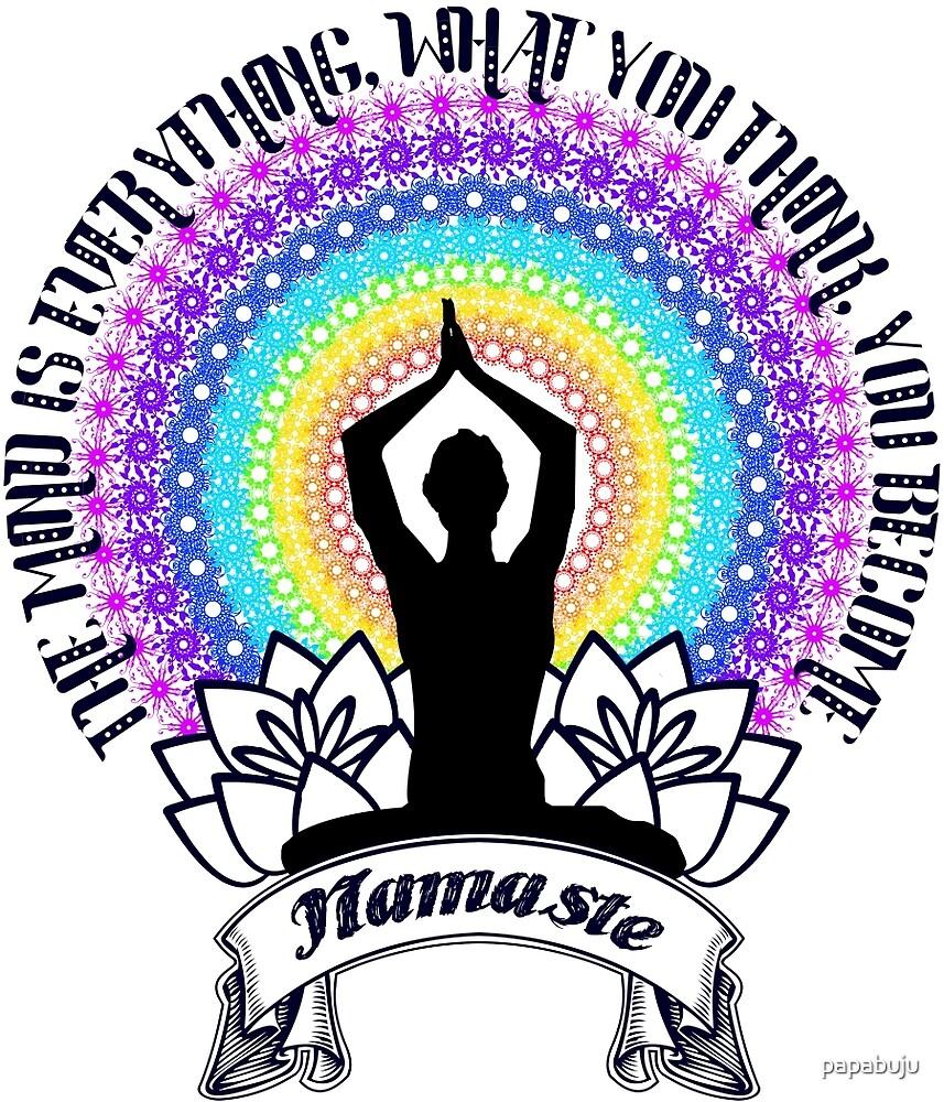 Namaste by papabuju
