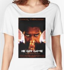 He Got Game Movie Poster Women's Relaxed Fit T-Shirt