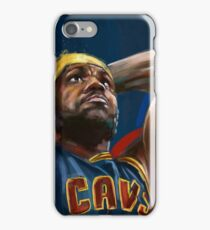 Lebron James Painting iPhone Case/Skin