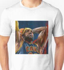 Lebron James Painting T-Shirt