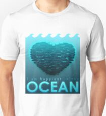 I Am Happiest In The Ocean T-Shirt