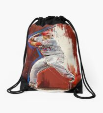 Mike Trout - Los Angeles Angels Drawstring Bag