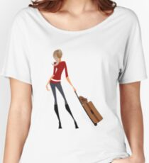Traveler Girl Women's Relaxed Fit T-Shirt