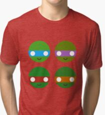 TMNT - Circley! Tri-blend T-Shirt
