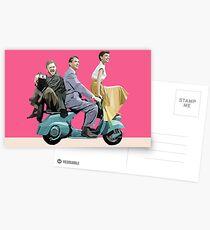 Audrey Hepburn: Römischer Feiertag Postkarten