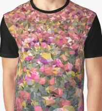 Meshed Up Colourful Summer Tulip Field Graphic T-Shirt