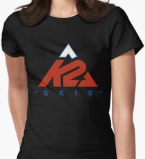 k2 skis apparel Womens Fitted T-Shirt