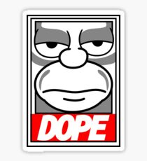 Dope - The Simpsons Sticker