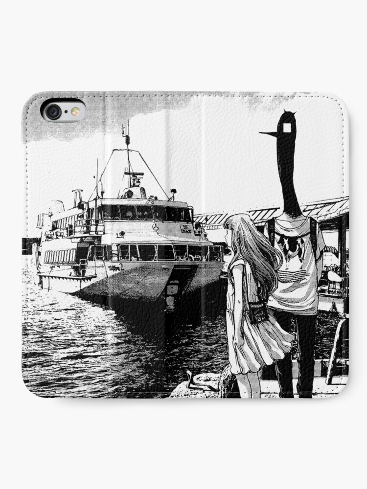 Alternate view of Punpun - By the Sea iPhone Wallet