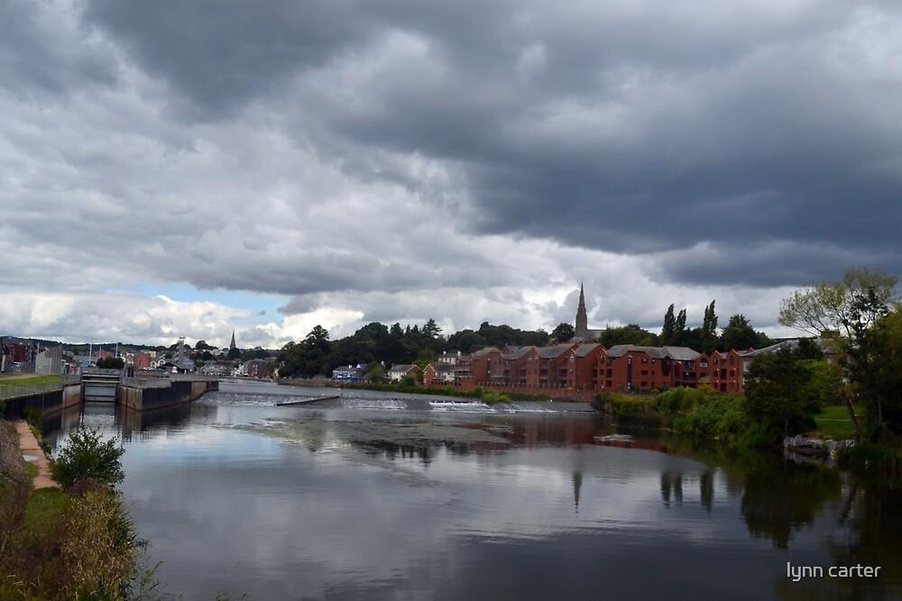 Exeter Canal, Devon UK by lynn carter