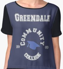 Commuinity- Greendale College Chiffon Top