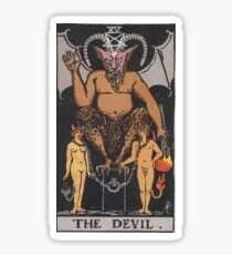 the devil Sticker