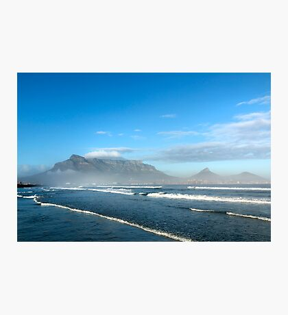 Early Morning Table Mountain, Cape Town Photographic Print