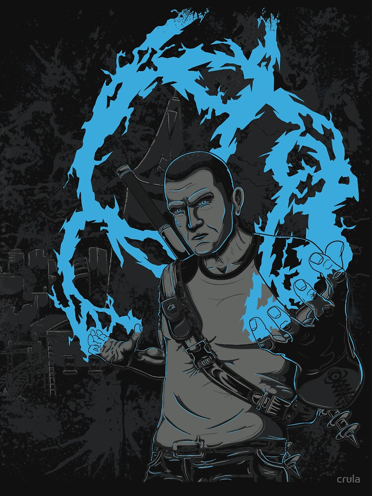 inFAMOUS2 Cole Ink  by crula