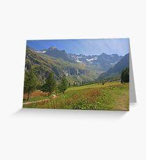 Vanoise National Park Greeting Card