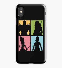 Honnōji Academy Elite Four iPhone Case/Skin