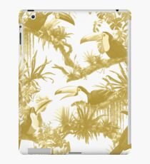 Toucans and Bromeliads - Spicy Mustard iPad Case/Skin