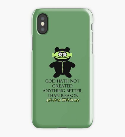 Prophet: God created Reason VRS2 iPhone Case