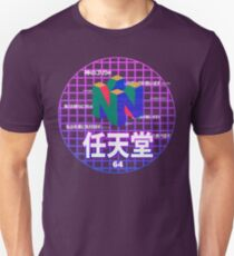 Vaporwave Nintendo 64 T-Shirt