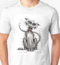 Naughty the cat Unisex T-Shirt