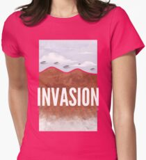 Invasion - Autumn of Humanity Womens Fitted T-Shirt
