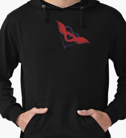 Let Your Heart Take Wings Lightweight Hoodie
