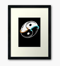 Darkness and Light...and Portals Framed Print