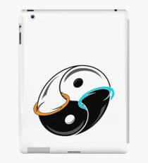 Darkness and Light...and Portals iPad Case/Skin