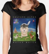 Watch Watch Women's Fitted Scoop T-Shirt