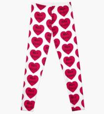 riot grrrl heart design feminist feminism punk bikini kill Leggings