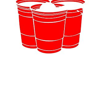 Beer Pong Get Your Balls Wet Funny  by bentoz