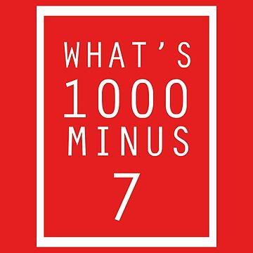 What is 1000 Minus Merchandise by alessandrotoni
