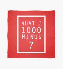 What is 1000 Minus Merchandise Scarf