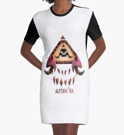 Alesha'ra Vestido camiseta