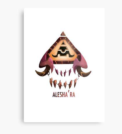 Alesha'ra Lienzo metálico